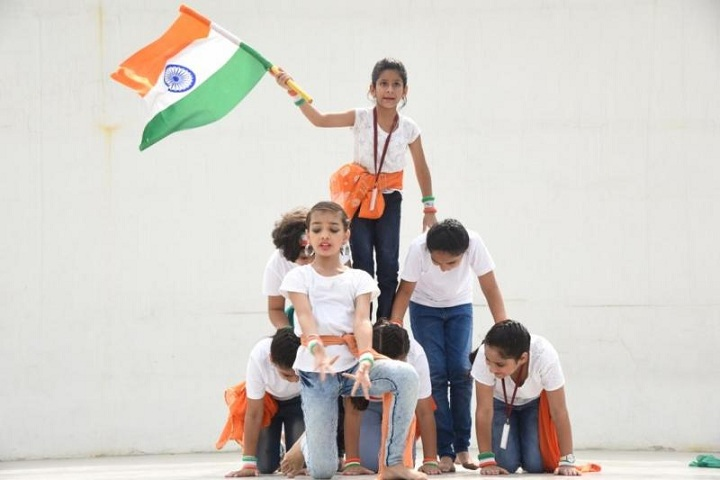 St Cecilias Public School-Independence Day