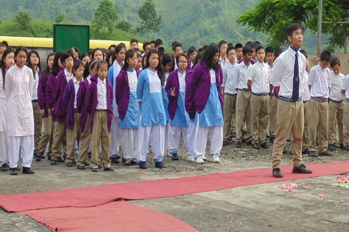 Donyi Polo Vidya Bhawan-Prayer