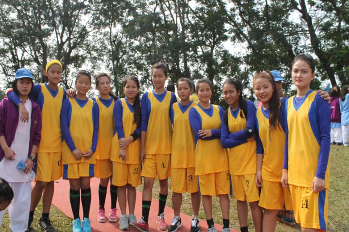 Donyi Polo Vidya Bhawan-Sports Team