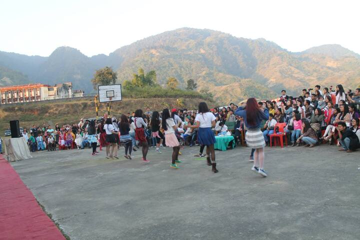 Donyi Polo Vidya Bhawan-Dancing Activity