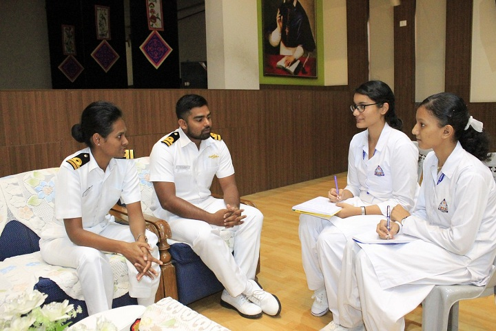 St Francis De Sales Senior Secondary School-Career Counselling for student by Indian Navy
