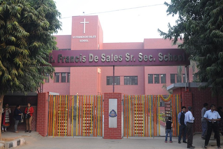 St Francis De Sales Senior Secondary School-School Building