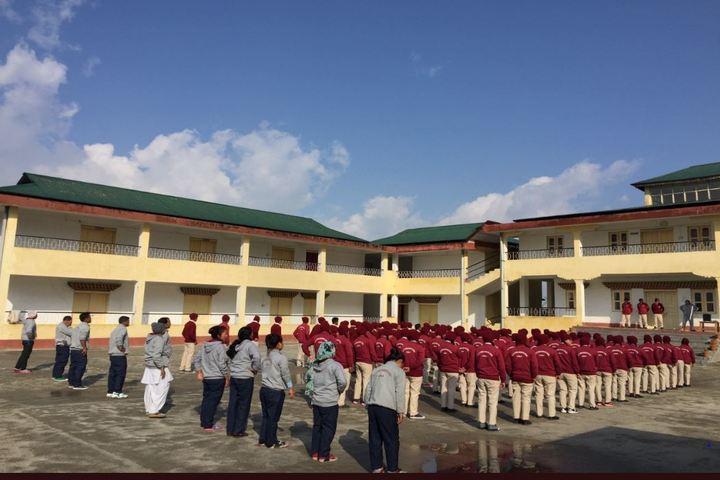 Eklavya Model Residenital School-Assembly