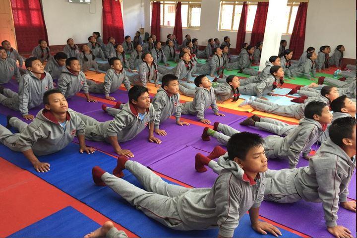 Eklavya Model Residenital School-Yoga