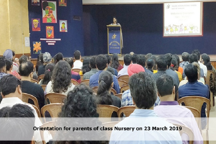 Tagore International School-Orientation