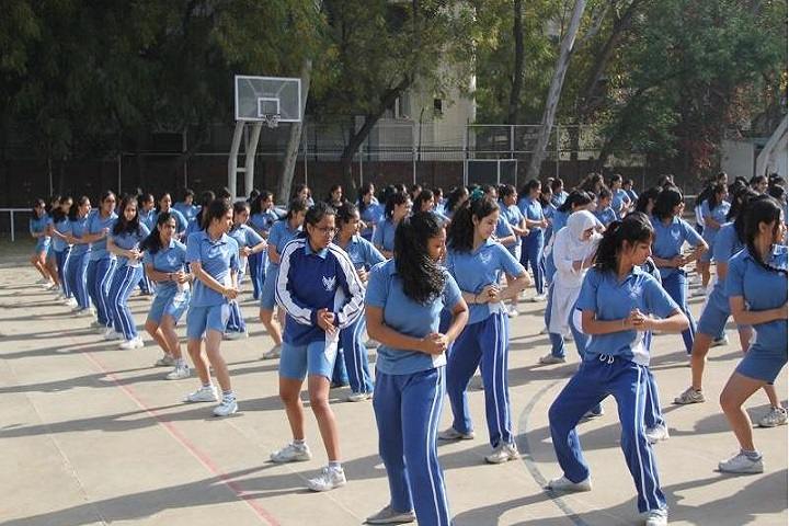 The Mothers International School-Self Defence Program