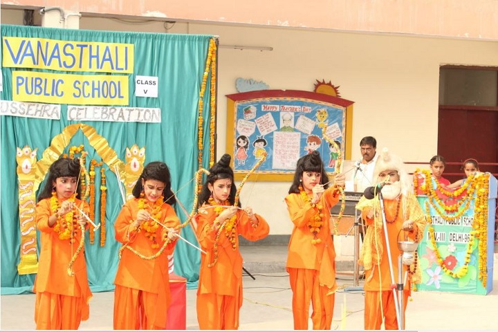 Vanasthali Public School-Dusshera Celebrations