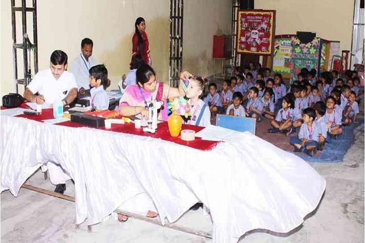 Vanasthali Public School-Eye Check Up Camp