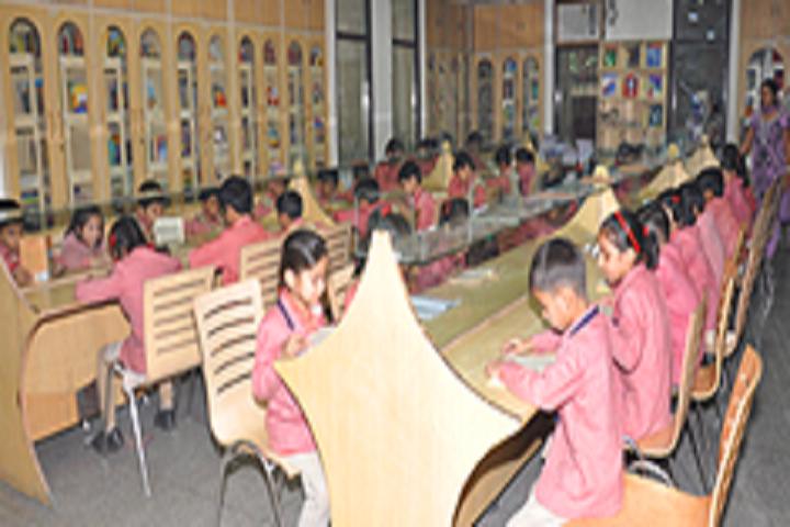 Vishal Bharti Public School-Library