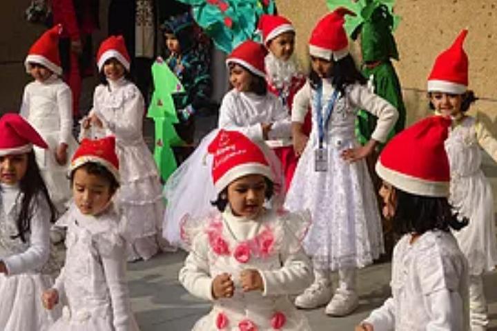 Vishwa Bharti Public School-Christmas Celebrations