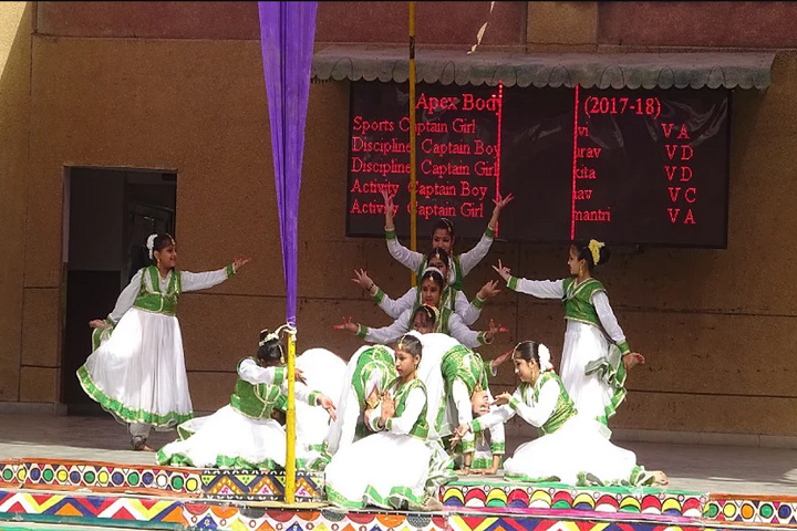 Vishwa Bharti Public School-Dances