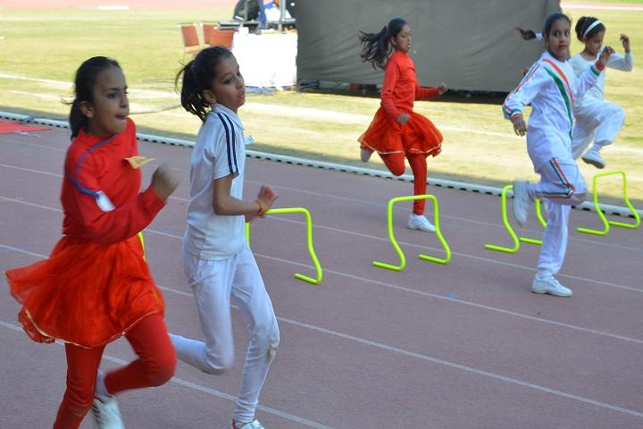 Vivekanand International School-Sports Meet