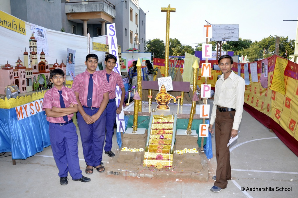 Aadharshila School-cultural fair