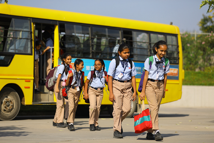 Aavishkar School-Transportation