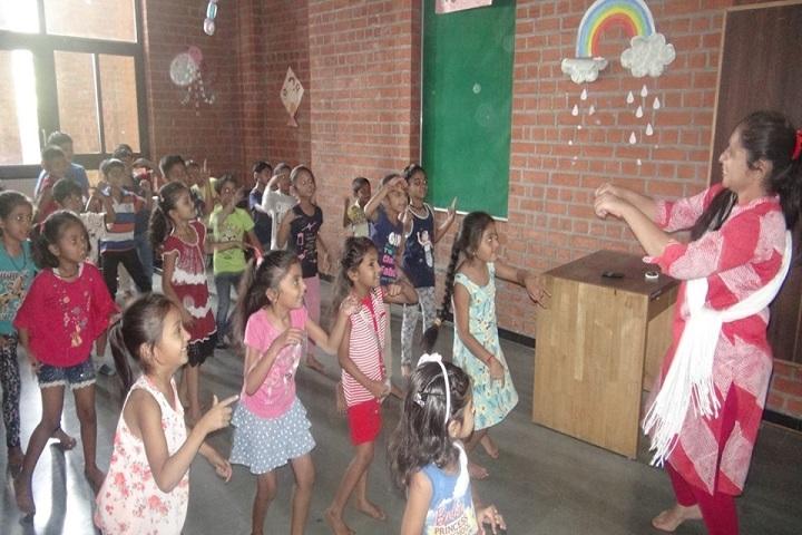 Academic Heights Public School-Dance class