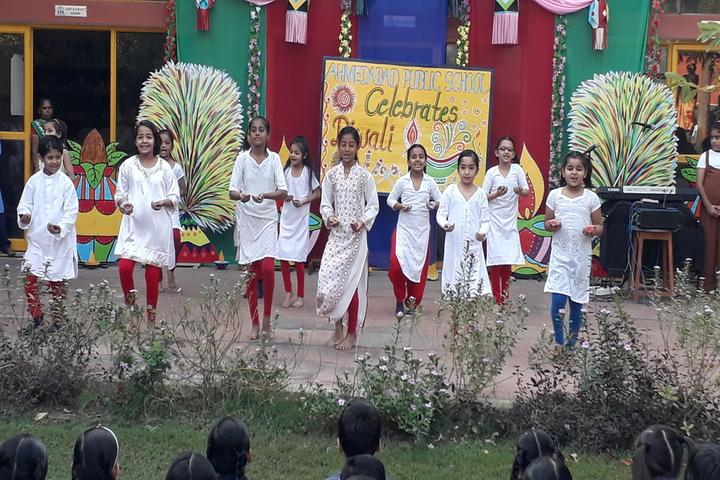 Ahmedabad Public School International-Diwali Celebration