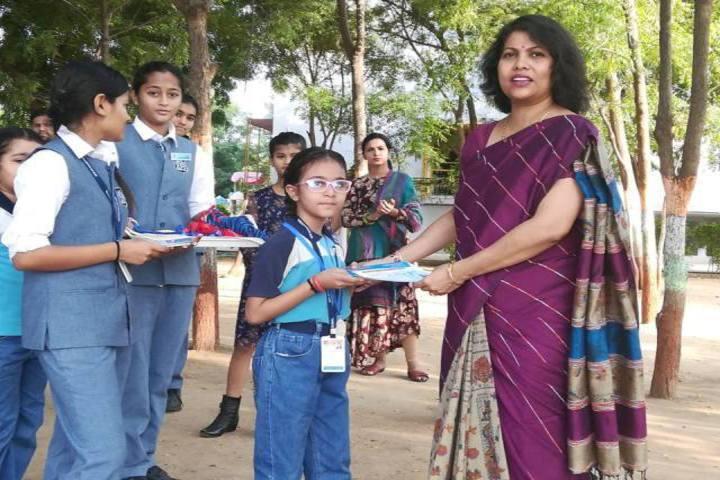 Ahmedabad Public School International-Prize Ceremony