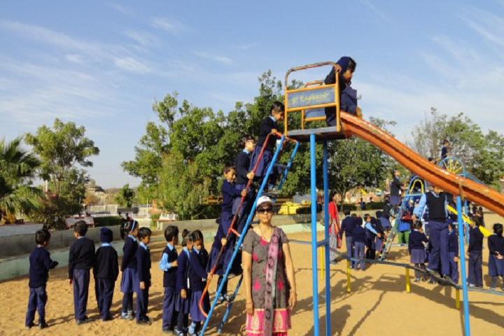 Air Force School-Kids play area