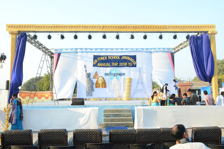 Air Force School-Annual day celebration