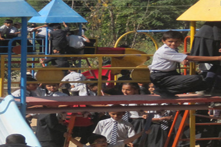 Akshar International School-Children Play Area