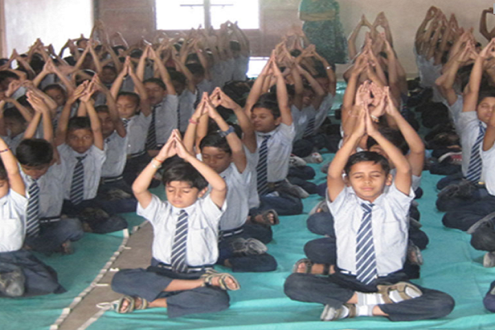 Akshar International School-Yoga