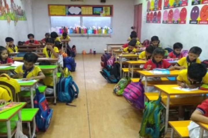 Ambe Public School-Kids Classroom