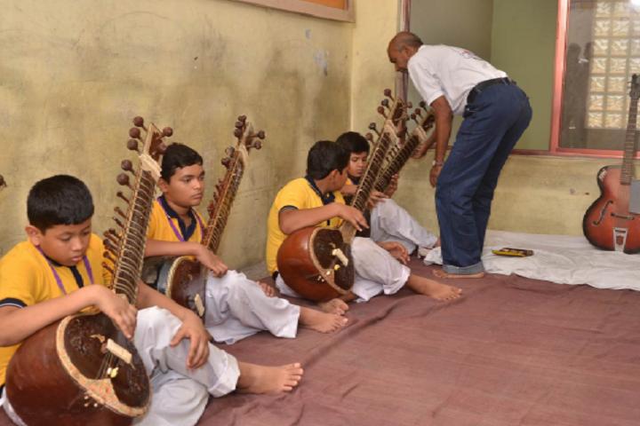 Ambe Public School-Music Class