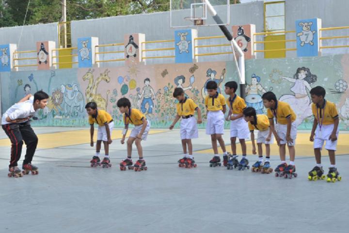 Ambe Public School-Skating