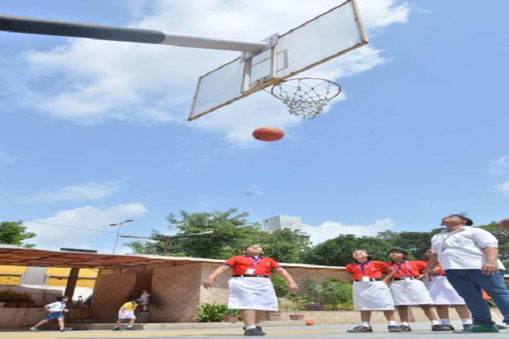 Ambe Public School-Basket Ball Court