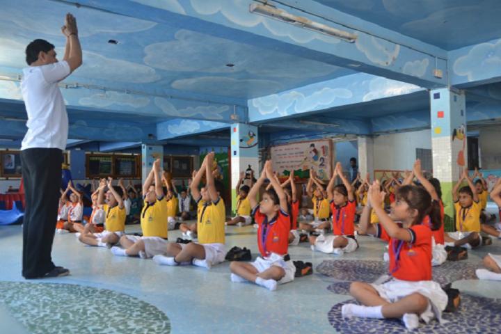 Ambe Public School-Yoga