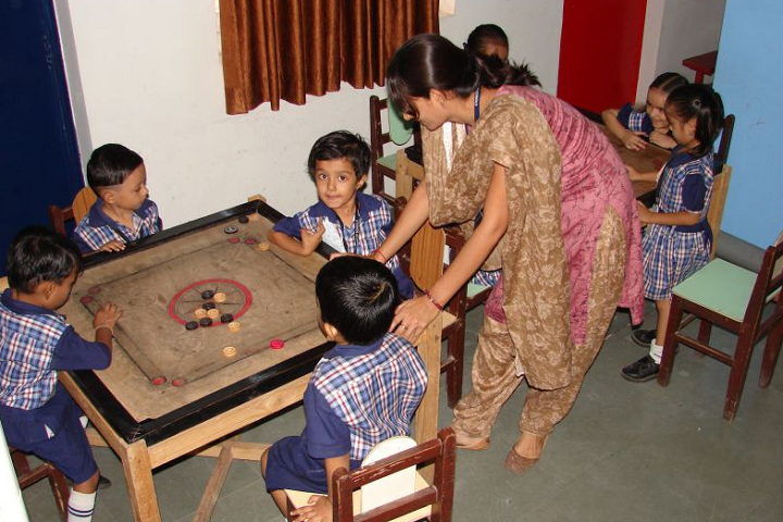 Ambe School-Indoor Games