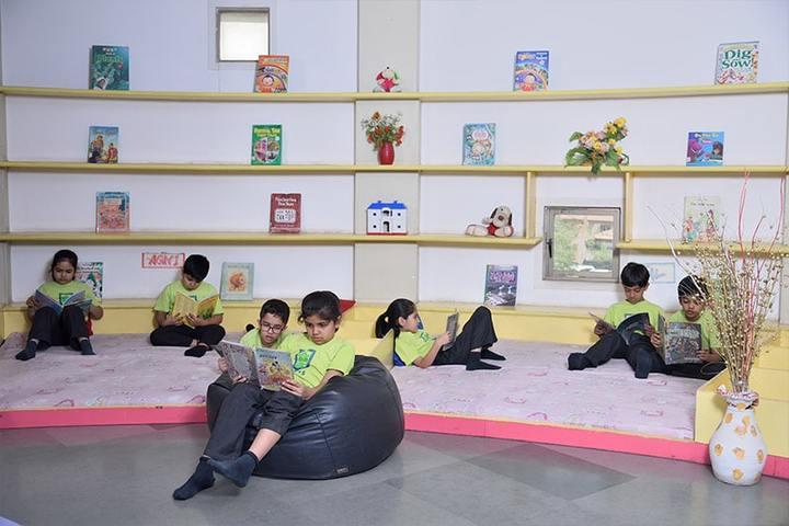Anand Niketan School Sughad Campus-Browsing Room