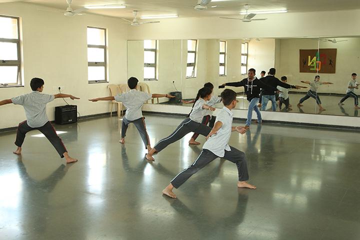 Anand Niketan School Sughad Campus-Dance Rooms