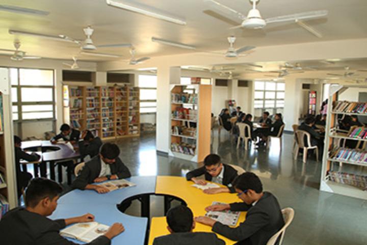 Anand Niketan School Sughad Campus-Library