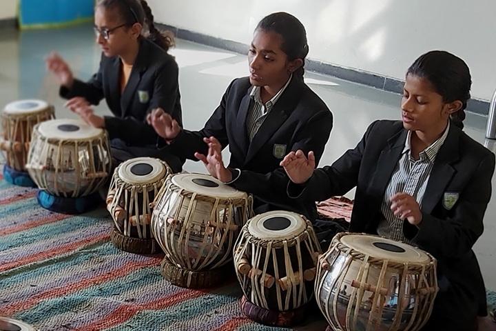 Anand Niketan School Sughad Campus-Music Rooms