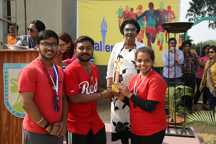 Anand Niketan School Sughad Campus-Prize Distribution