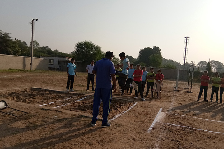 Anand Niketan School Sughad Campus-Sports Area
