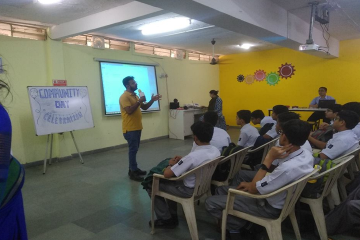 Anand Vidya Vihar-Seminar hall