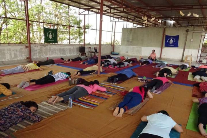 Anand Vidya Vihar-Yoga activity