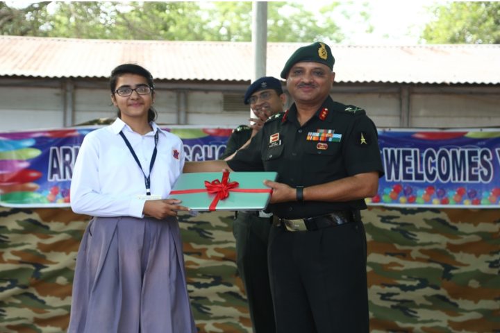 Army Public School-Presentation party