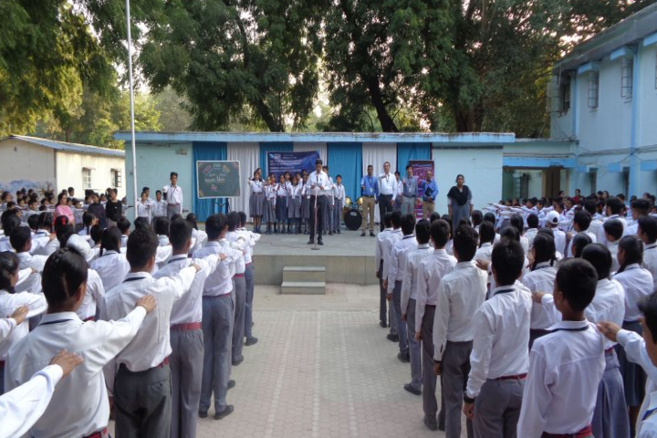 Army Public School-School assembly