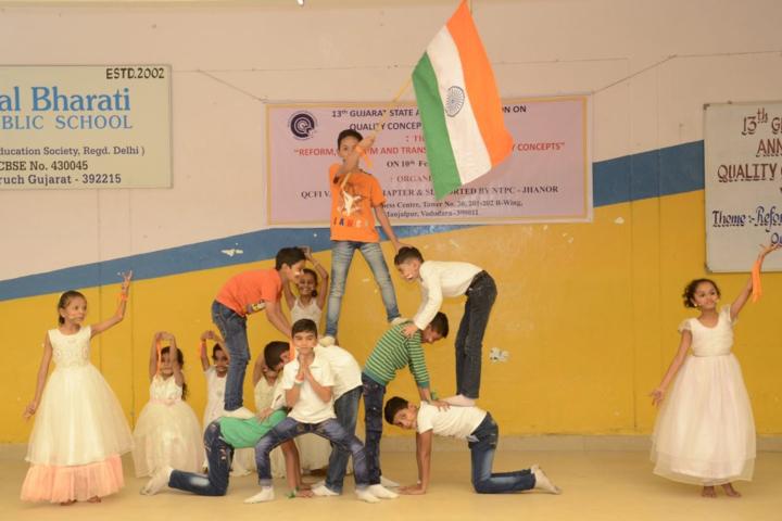 Bal Bharati Public School,jhanor-National day celebration