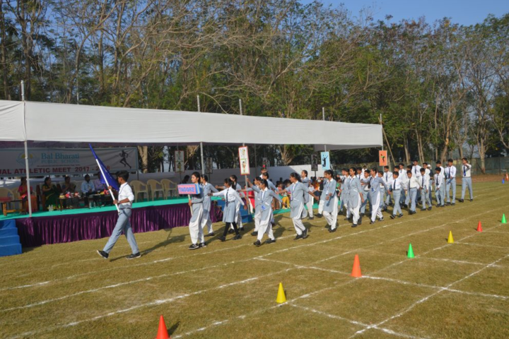 Bal Bharati Public School,jhanor-Sports day celebration