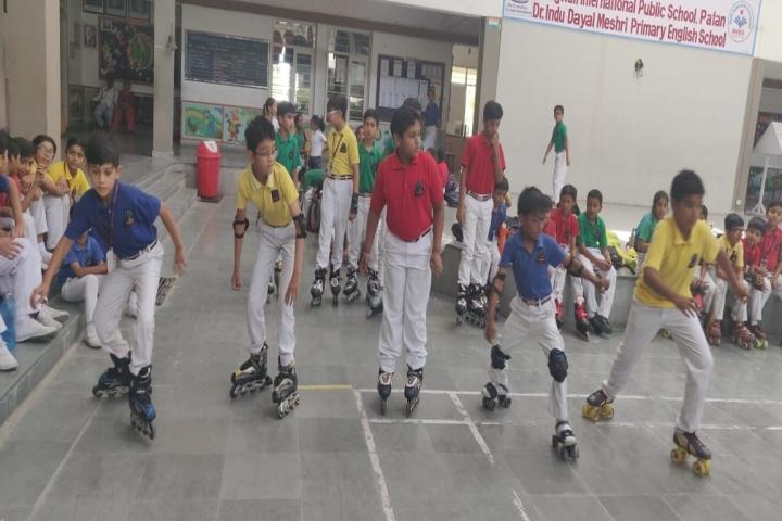 Bhagwati International Public School-Skating