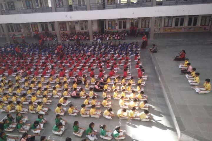 Bhagwati International Public School-Yoga