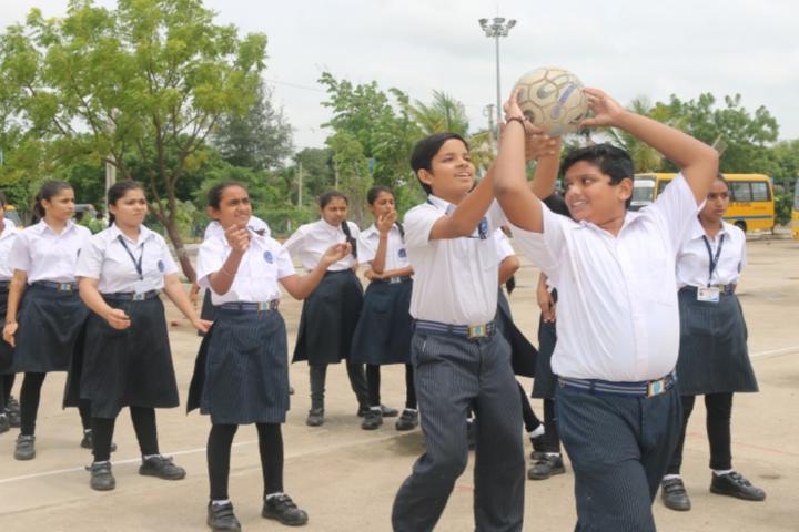 Bhakt English Medium School-Play ground