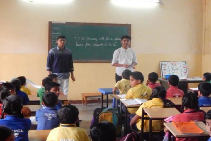 Bhartiya Vidya Bhavans-Classroom