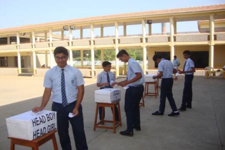 Bhartiya Vidya Bhavans-Student election