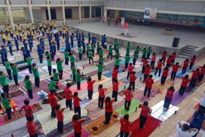 Bhartiya Vidya Bhavans-Yoga