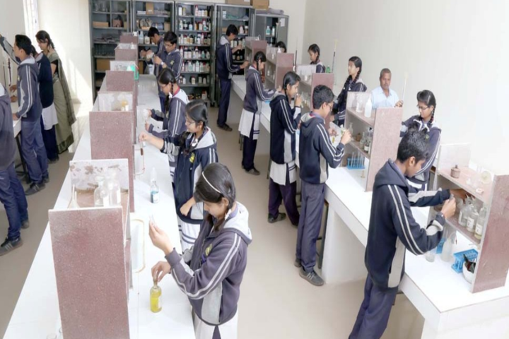 Birla Sagar Higher Secondary School-Chemistry Lab